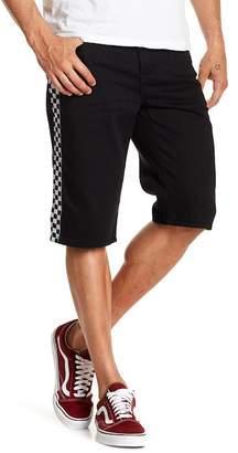 American Stitch Checkered Side Shorts