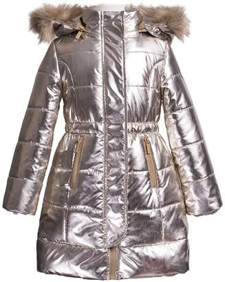 Imoga Vicky Faux Fur Puffer Jacket (Little Girls & Big Girls)