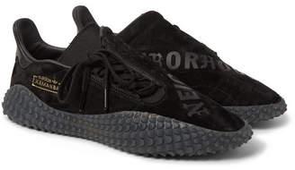 adidas Consortium + Neighborhood Kamanda 01 Printed Suede Sneakers