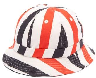 24951b03 Holiday Boileau Striped Cotton Canvas Bucket Hat - Mens - Multi