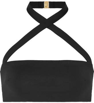 Fella - Roy Halterneck Bikini Top - Black