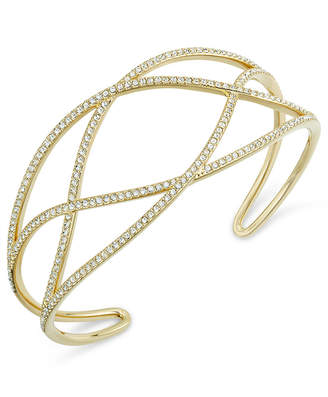 Laurèl Danori Pavé Cuff Bracelet, Created for Macy's