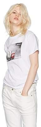 Converse (コンバース) - [コンバース] 半袖Tシャツ(8282-8830) OTH-658 レディース ホワイト 日本 M (日本サイズM相当)