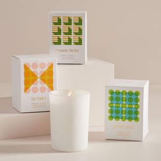 west elm Optic Geo Holiday Candles