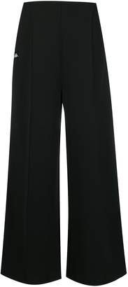 Kappa logo strip track trousers