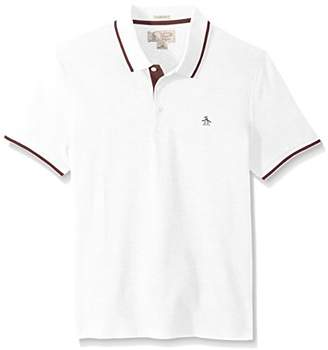 Original Penguin Men's Polo with Contrast Tipping