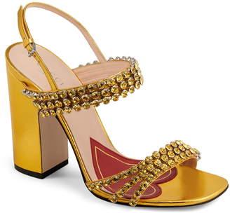 9dc2d720884 Gucci Bertie Jewel Sandal