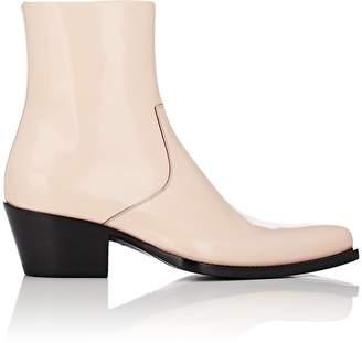 Calvin Klein Men's Leather Side-Zip Boots