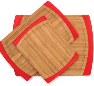 Lipper 3-Piece Bamboo Non-Slip Cutting Board Set