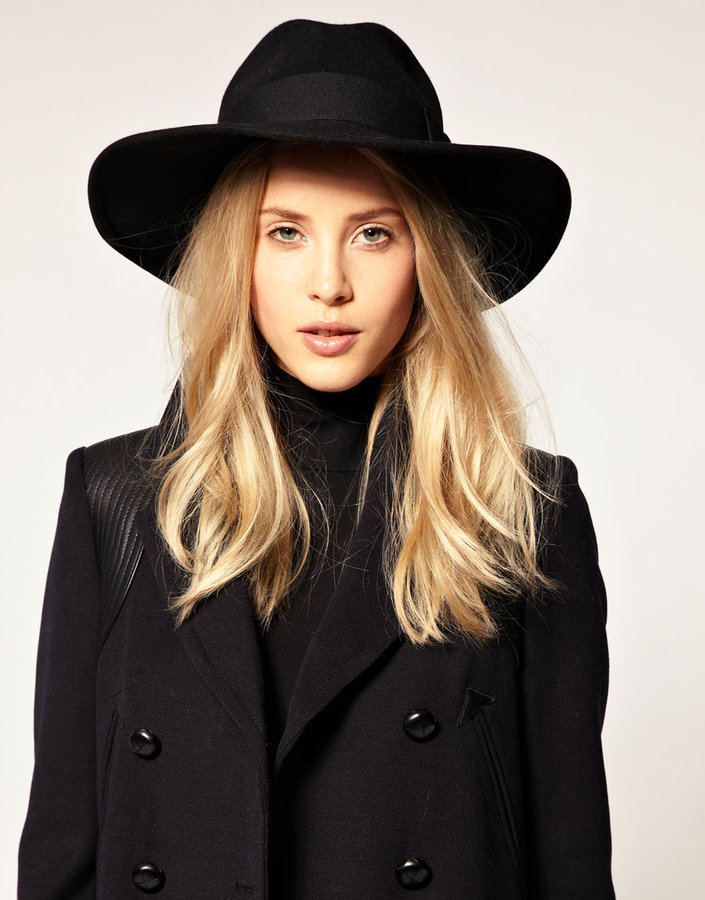 Catarzi Large Exclusive For Asos Brim Fedora Hat
