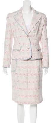 Christian Lacroix Structured Skirt Suit