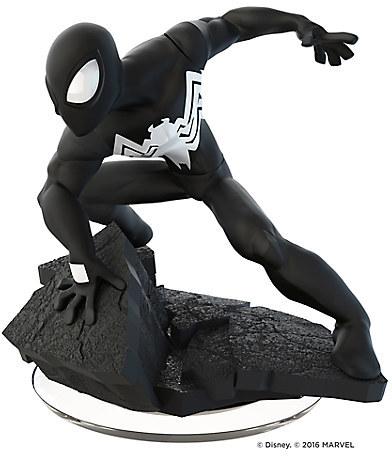Black Suit Spider-Man Figure - Disney Infinity: Marvel Super Heroes (3.0 Edition)