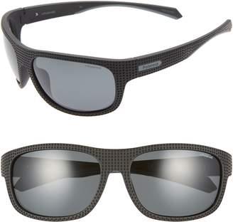 Polaroid Plastic Wrap 63mm Polarized Sunglasses