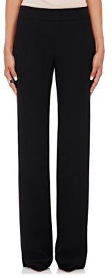 Giorgio Armani Women's Silk Flared Pants-BLACK $1,695 thestylecure.com