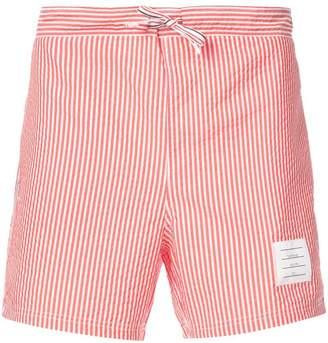 Thom Browne classic striped swim shorts