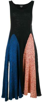 Calvin Klein colour block knitted dress