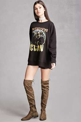 FOREVER 21+ Yoki Suede Over-the-Knee Boots $58 thestylecure.com