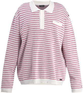 Balenciaga Long-sleeved striped polo shirt