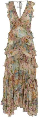 Zimmermann Floral Flutter Dress