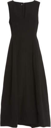 Co Wool-Blend Midi Dress Size: S