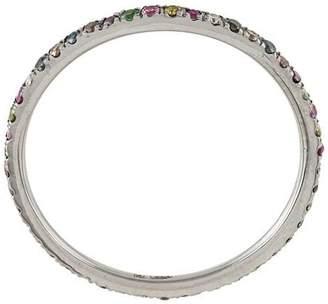 Ileana Makri Thread Rainbow Band ring