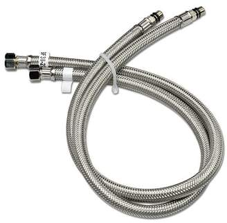 Luxier Vessel Sink Faucet Stainless Steel Flexible Water Supply Hose