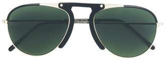 L.G.R aviator shaped sunglasses
