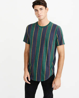 Abercrombie & Fitch Curved Hem Tee