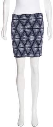 BCBGMAXAZRIA Bandage Mini Skirt