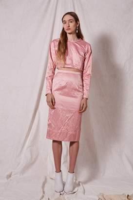 Boutique **rigid crinkle skirt