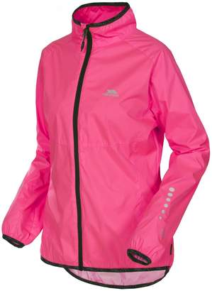 Trespass Womens/Ladies Highlighted Waterproof Active Jacket (XL)