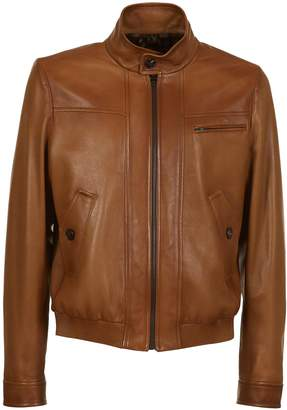 Prada Classic Leather Jacket