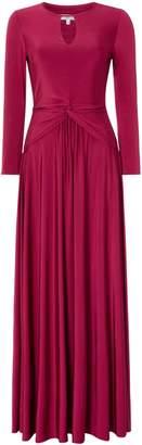 Issa Octavia long sleeve maxi dress