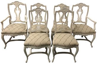 One Kings Lane Vintage French Style Dining Chairs,Set of 6 - Von Meyer Ltd.