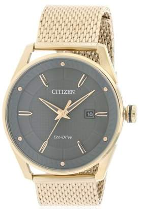 Citizen Drive Rose Gold-Tone Mens Watch BM6983-51H