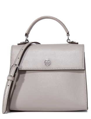 Tory Burch Parker Small Top Handle Satchel $295 thestylecure.com