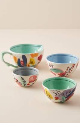 Anthropologie Set of 4 Milton Measuring Cups