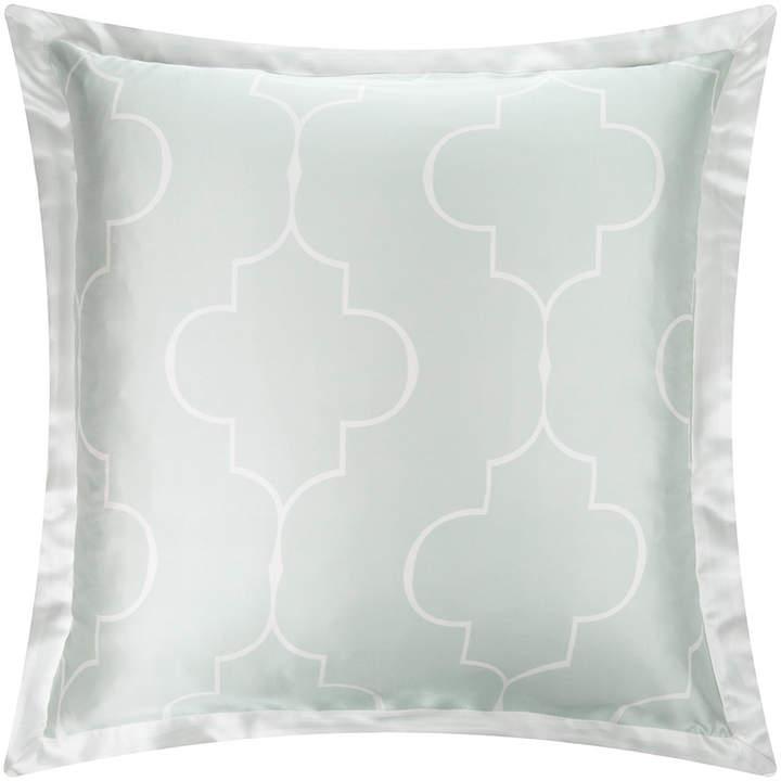 Gingerlily - Casablanca Silk Pillowcase - Ivory/Ice Blue - 65x65cm