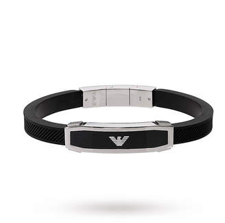 Emporio Armani Jewellery Mens Stainless Steel Bracelet