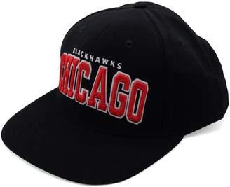 Reebok Chicago hawks Snapback Hat All Bold Logo