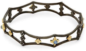 Armenta Old World Diamond Cutout Bangle Bracelet