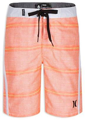 Hurley Boys' Shoreline Striped Board Shorts - Little Kid