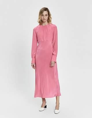 Les Reveries Shirred Neck Dress