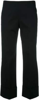 Fay cropped wide trousers