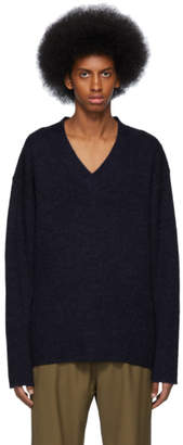 Hope Navy Low Sweater