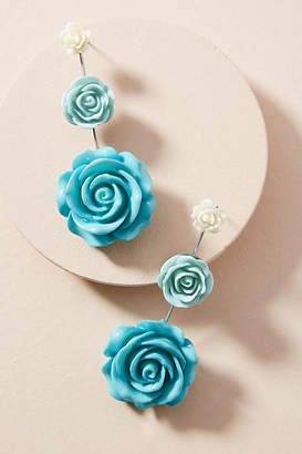 Dannijo Beck Floral Drop Earrings