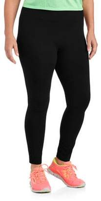 Danskin Women's Plus Size Dri More Core Legging