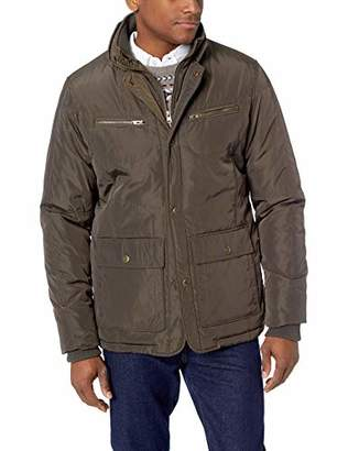 LN LUCIANO NATAZZI Men's Quilted Puffer Jacket