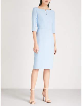 Roland Mouret Etty square-neck crepe dress