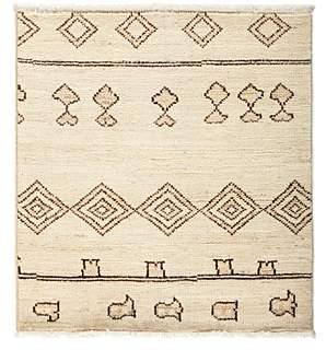 Moroccan Area Rug, 3'2 x 3'4